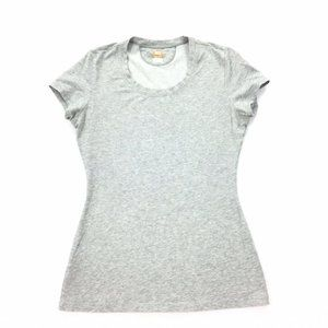 Lucy Tech   Short Sleeve Basic Fitted T-Shirt